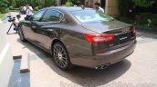 Maserati Quattroporte rear quarters India reveal