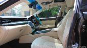 Maserati Quattroporte seats India reveal