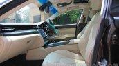 Maserati Quattroporte seats India reveal