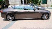 Maserati Quattroporte side India reveal