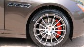 Maserati Quattroporte wheel India reveal