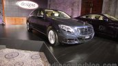 Mercedes S Class with designo front three quarter launched in Delhi