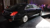 Mercedes S Class with designo rear three quarter launched in Delhi