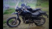 Royal Enfield Himalayan profile spied