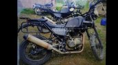 Royal Enfield Himalayan side spied
