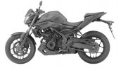 Yamaha MT-03 side