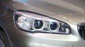 2015 BMW 2 Series Gran Tourer headlamp at the 2015 Gaikindo Indonesia International Auto Show