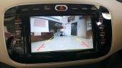 2015 Fiat Linea Elegante 6.5-inch infotainment system reverse parking camera