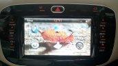 2015 Fiat Linea Elegante 6.5-inch infotainment system screen