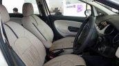 2015 Fiat Linea Elegante front seats