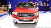 2015 Ford Everest front at the 2015 Indonesia International Motor Show