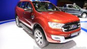 2015 Ford Everest front quarter at the 2015 Indonesia International Motor Show