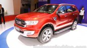 2015 Ford Everest front three quarter at the 2015 Indonesia International Motor Show