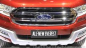 2015 Ford Everest grille at the 2015 Indonesia International Motor Show