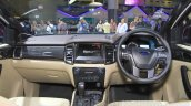 2015 Ford Everest interior launched at the 2015 Indonesia International Motor Show
