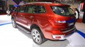 2015 Ford Everest rear quarter at the 2015 Indonesia International Motor Show