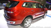 2015 Ford Everest rear three quarter at the 2015 Indonesia International Motor Show
