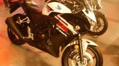 2015 Honda CBR250R India spec front three quarter from Revfest