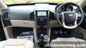2015 Mahindra XUV500 (facelift) dashboard review