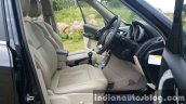 2015 Mahindra XUV500 (facelift) front cabin (1) review