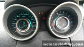 2015 Mahindra XUV500 (facelift) instrument cluster review
