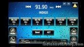 2015 Mahindra XUV500 (facelift) music menu review