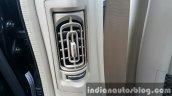 2015 Mahindra XUV500 (facelift) rear HVAC vent review