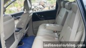 2015 Mahindra XUV500 (facelift) second row legroom review