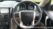 2015 Mahindra XUV500 (facelift) steering wheel review