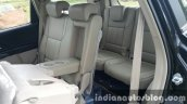 2015 Mahindra XUV500 (facelift) third row seat access review