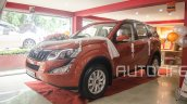 2015 Mahindra XUV500 front three quarter launched in Nepal