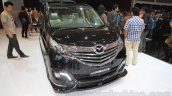 2015 Mazda Biante Limited Edition MPV front quarter at the 2015 Gaikindo Indonesia International Auto Show (2015 GIIAS)