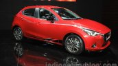 2015 Mazda2 Limited Edition front three quarter launched at the 2015 Gaikindo Indonesia International Auto Show today