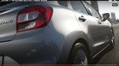 2015 Suzuki Baleno rear and taillight teaser