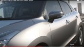 2015 Suzuki Baleno side mirror and window teaser