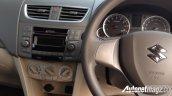 2015 Suzuki Ertiga (facelift) driver area In Images