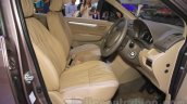2015 Suzuki Ertiga facelift front seats at the Gaikindo Indonesia International Auto Show 2015