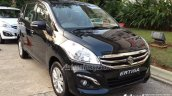 2015 Suzuki Ertiga (facelift) front three quarter In Images