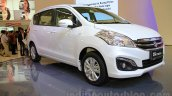 2015 Suzuki Ertiga facelift front three quarter left at the Gaikindo Indonesia International Auto Show 2015
