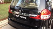 2015 Suzuki Ertiga (facelift) rear quarter In Images