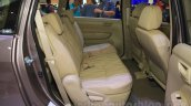 2015 Suzuki Ertiga facelift rear seat at the Gaikindo Indonesia International Auto Show 2015