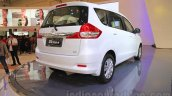 2015 Suzuki Ertiga facelift rear three quarter right at the Gaikindo Indonesia International Auto Show 2015