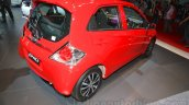 2015 facelifted Honda Brio rear quarter at the 2015 Indonesia International Motor Show