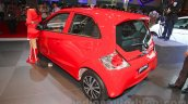 2015 facelifted Honda Brio rear three quarter at the 2015 Indonesia International Motor Show