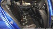 2016 BMW 3 Series rear seat at the 2015 Gaikindo Indonesia International Auto Show (GIIAS 2015)