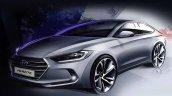 2016 Hyundai Elantra (2016 Hyundai Avante) teaser