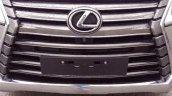 2016 Lexus LX grille spied (August 2015)