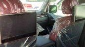 2016 Lexus LX rear seat spied (August 2015)