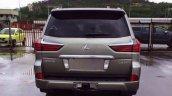2016 Lexus LX rear spied (August 2015)