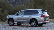 2016 Lexus LX side view press image